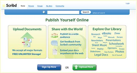 Scribd - Online Document Sharing