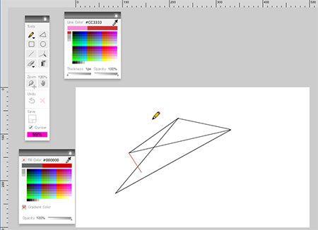 Queeky - Online Drawing Board