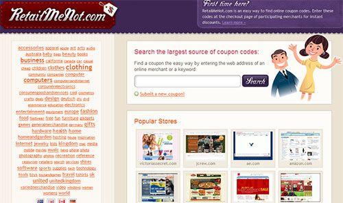 RetailMeNot - Coupons and Discount Vouchers