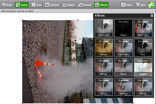 Snipshot : Resize and Edit Pictures Online