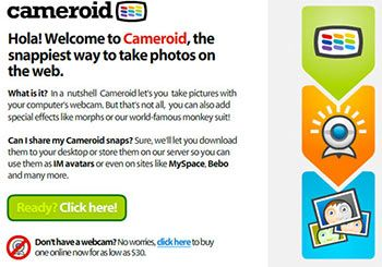 Cameroid - Online Photo Booth
