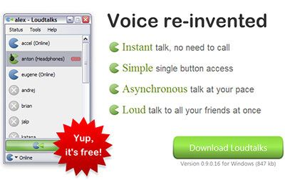 LoudTalks - Communicate using Voice Messages
