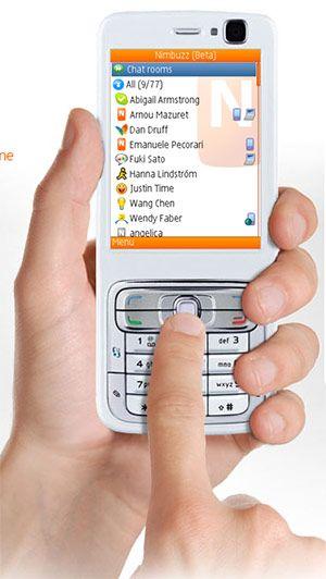 Nimbuzz - Group calling and Text messaging