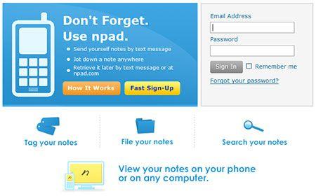 Npad - Mobile ScrapBook