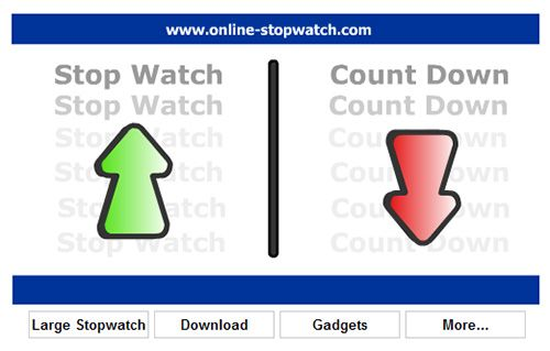 online stopwatch   StopWatch: Online Stopwatch and Countdown Timer