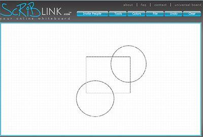 ScribLink - Online Drawing Board