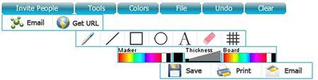 ScribLink - Online Drawing Tools