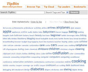 TipBin - Free User Tips