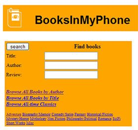 BooksInMyPhone - Read Books on Your Mobile