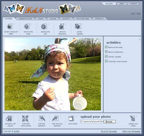 FanStudio - One Click Online Image Editing