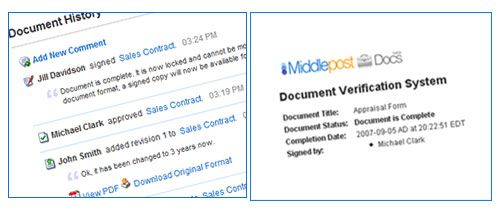 MiddlePost - Sign and Manage Documents Online