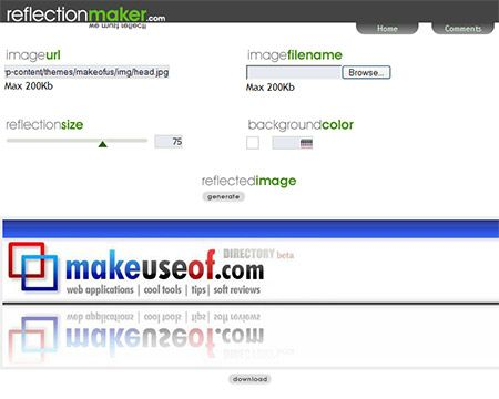 reflection maker generator   ReflectionMaker: Generate Images Reflections