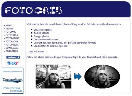 FotoCrib - Online Image Enhancement