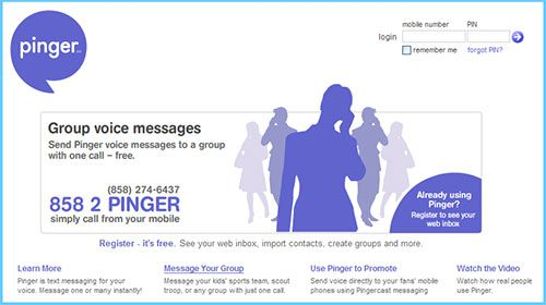 pinger free voice messages   Pinger: Free Voice Messages to Any Mobile