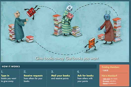 BookMooch - Exchange Your Books