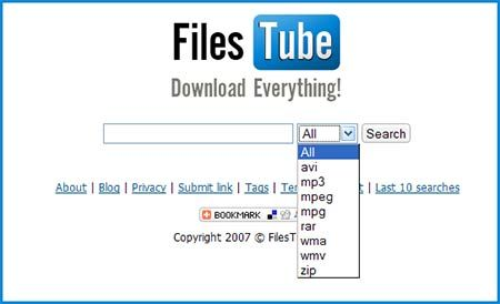 files tube search   FilesTube : File Sharing Search Engine