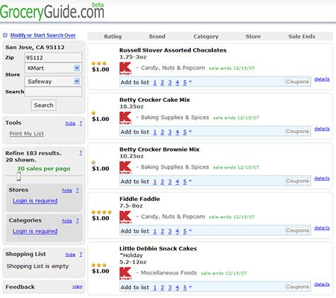 Grocery Guide - Grocery Coupons and Deals
