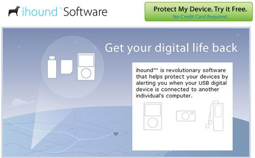 ihoundSoftware - Recover lost gadgets and cell phones