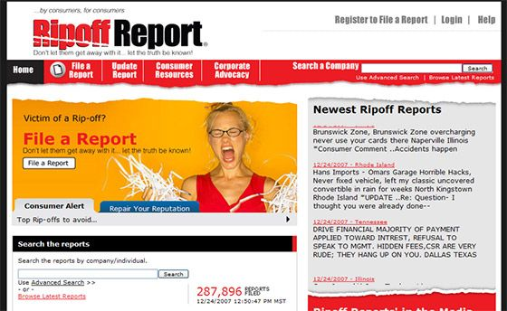 Report RipOff Companies