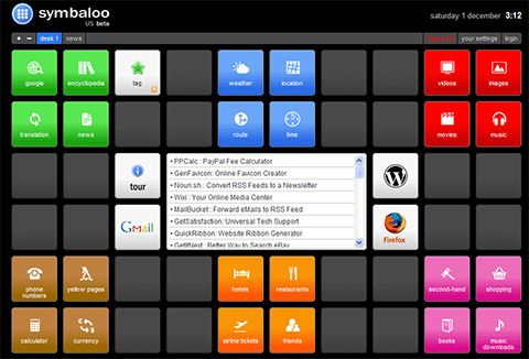 Symbaloo - Online Startpage