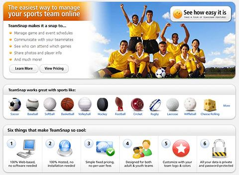 team snap manage sport   TeamSnap : Online Team Manager