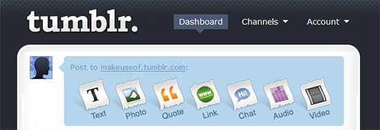 Tumblr - Extremely Easy Blogging Tool