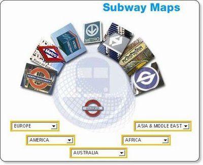 Subway and Metro Maps