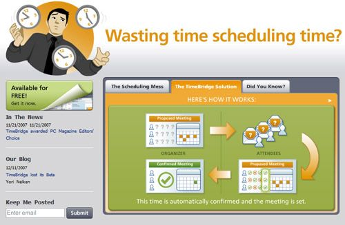 TimeBridge - Automated Meeting Scheduler
