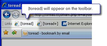 Toread - Bookmark Webpages To Email