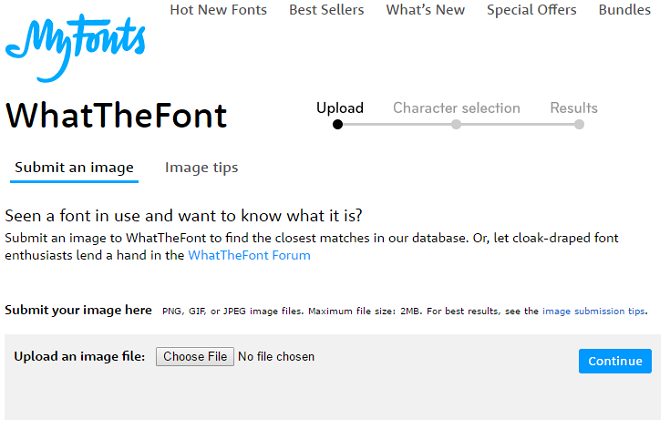 WhatTheFont and 4 Alternatives: Recognize the Font from any Image whatthefont 670x429
