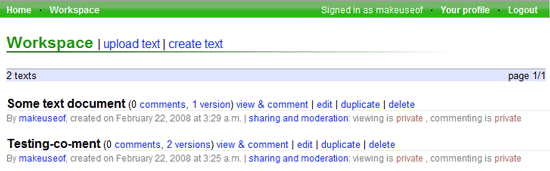 Annotate and Collaborate on Documents