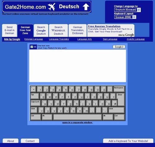 Gate2Home : Online Keyboard in any Language