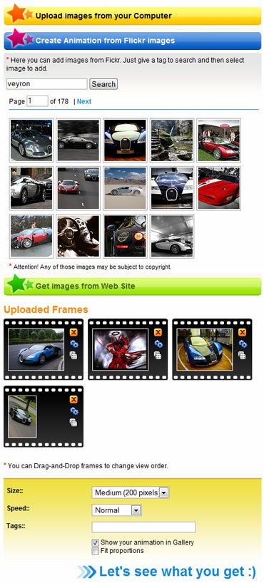 GIFup - Free GIF Animation software