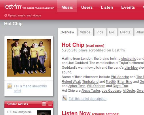 Using Last.fm to Improve your Audiovascular Fitness