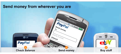 Access Paypal from Mobile