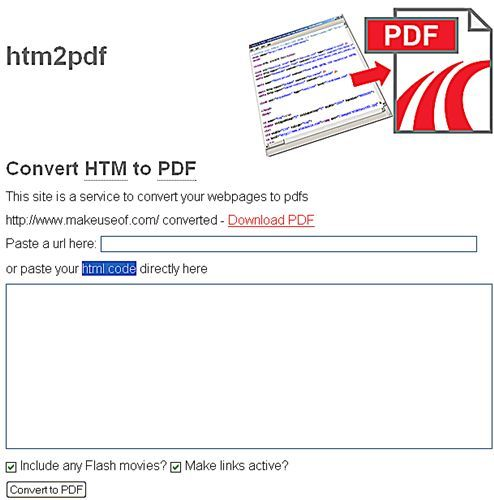 HTML 2 PDF - Convert any Web page to PDF
