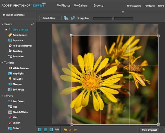 Photoshop Express - Web-based Photoshop + Photo Sharing