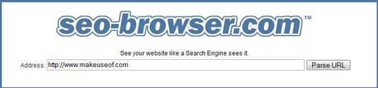 Find out How Search Engines See your Site