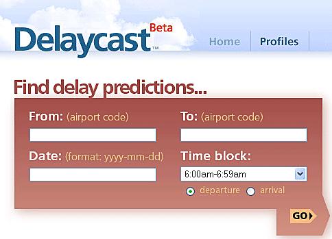 DelayCast - Flight Delay Predictions
