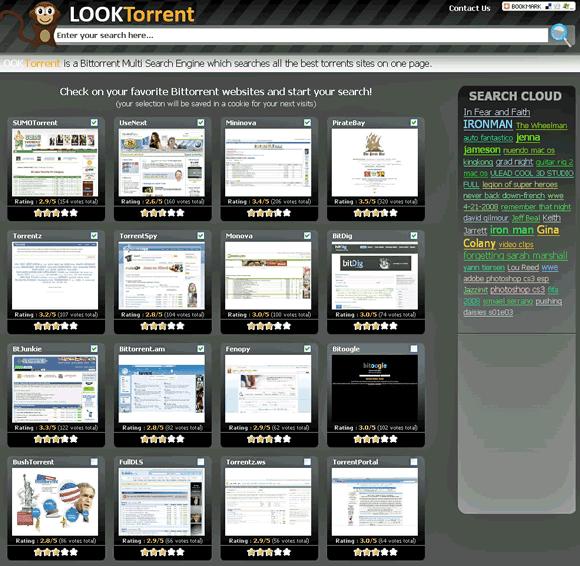 LookTorrent - Torrnt Meta Search Engine