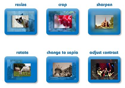 OnlinePhotoTool - Online Image Editor