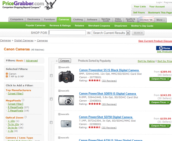 5 Comparison Websites that WILL Save you Money