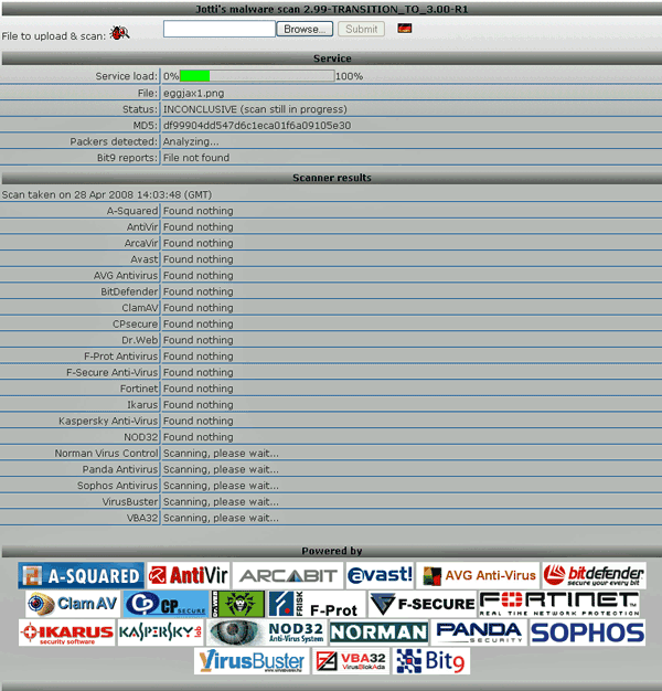 Virus Scan - Check Files for Viruses Online