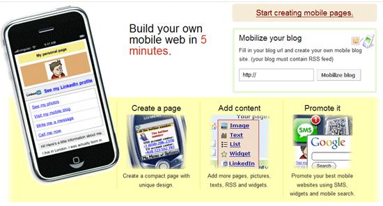 WiredNode - Mobilise your Website
