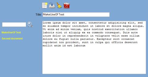 Yanobs - Online Notepad Replacement