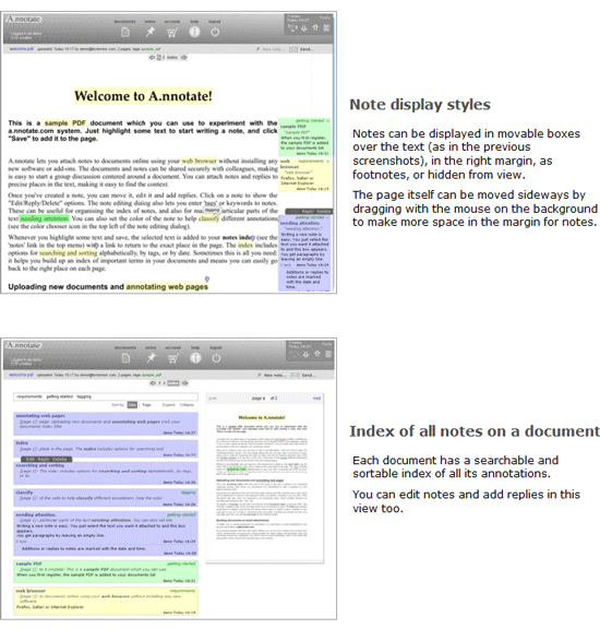 Annotate PDF, Word, Excel and Web Pages Online