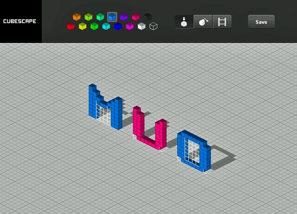 cubescape   CubeScape: Generate 3D Pixel Art
