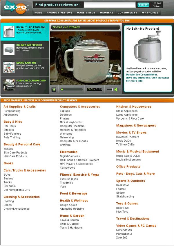 ExpoTV - Consumer Product Reviews
