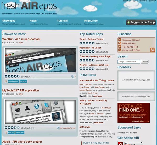 Adobe AIR Applications
