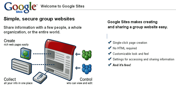Google Sites - Create a Website Online for Free